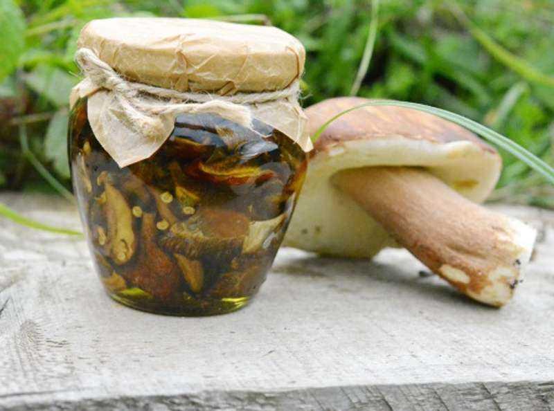 маринованные грибы фото 1