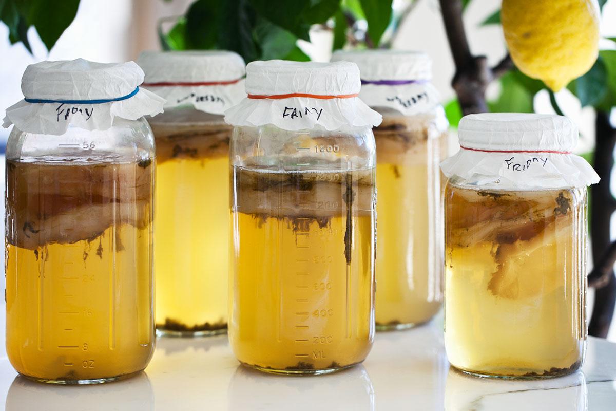 4 рецепт - пивной гриб из живого (разливного) пива