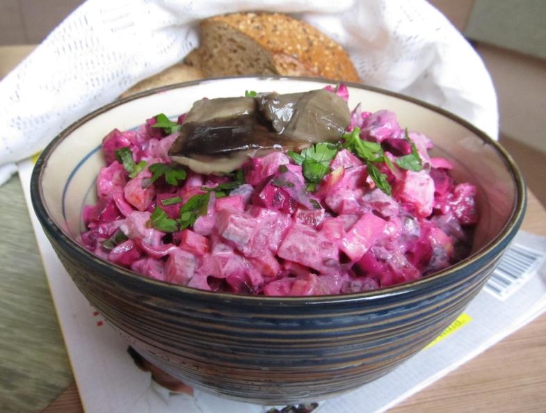 сложный салат «Росолье»