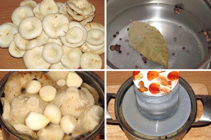 народный рецепт маринованных груздей