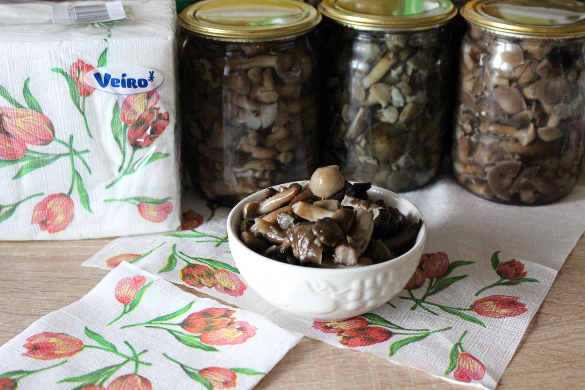 как приготовить осенние опята в маринаде из мёда и гвоздики? Рецепт + фото