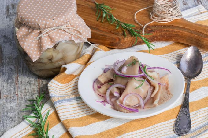 Маринованные вешенки - вкусный рецепт очень быстрого приготовления