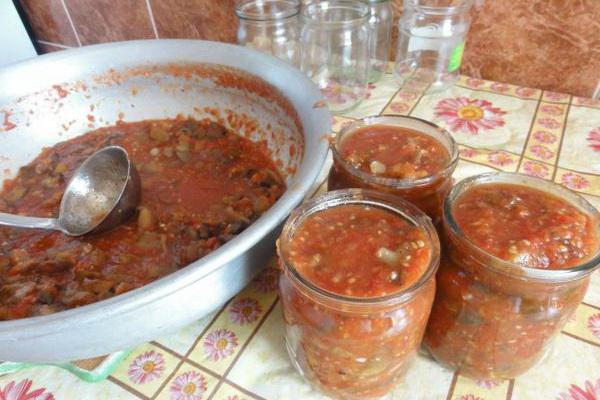 маринованные опята в томатном соусе, рецепт на зиму