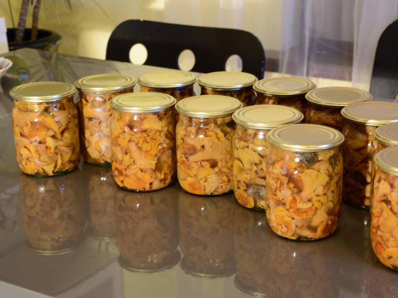 Жареные лисички на зиму - 3 рецепта приготовления с фото