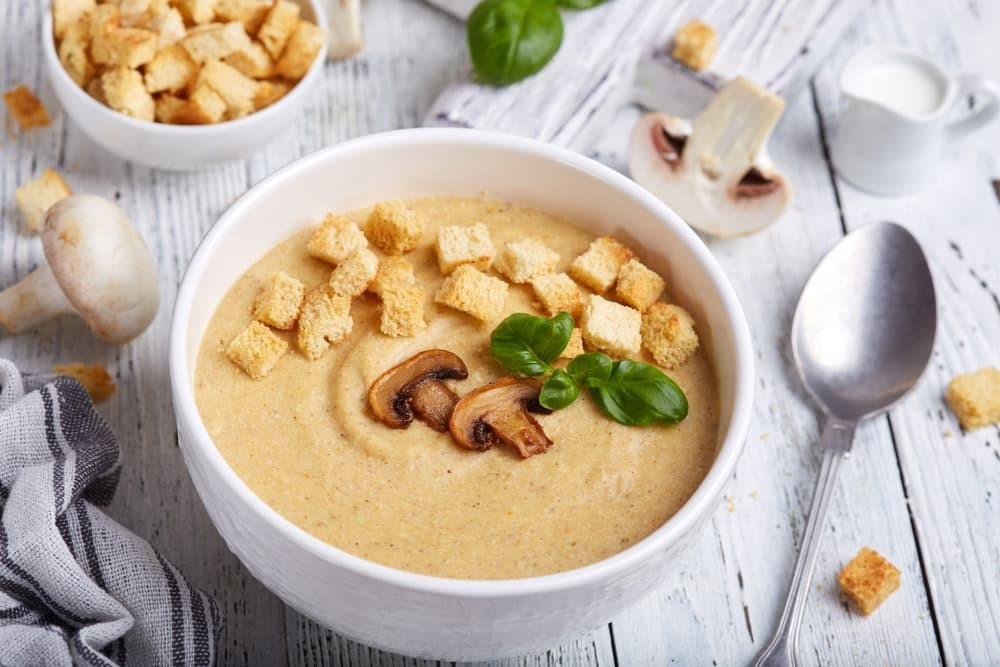 Суп пюре из шампиньонов: рецепты приготовления