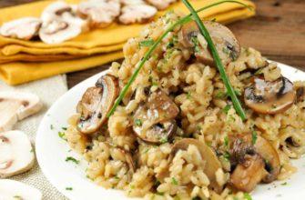 Ризотто с грибами: как его готовить, чтоб получилось ризотто, а не рисовая каша