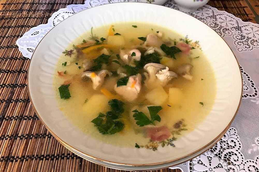 Суп из Вешенок – простой, разнообразный и вкусный