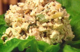 Салат с маринованными шампиньонами 10 лучших рецептов