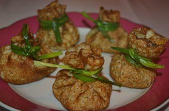 Блины с грибами 4 самых популярных рецептов