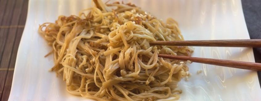 Эноки – деликатесные грибы. Советы и рецепты