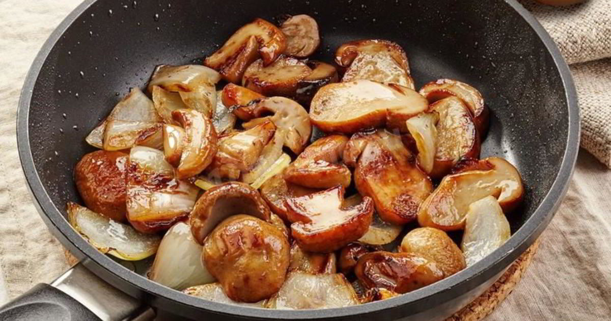 Сколько и как жарить белые грибы