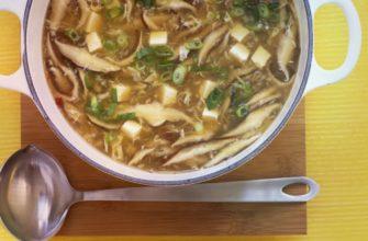 Грибной суп из подосиновиков свежих, сушеных и замороженных
