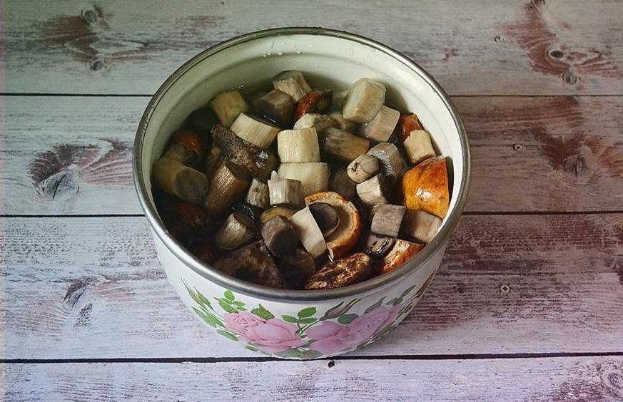Жаренные подосиновики с картошкой и другие рецепты