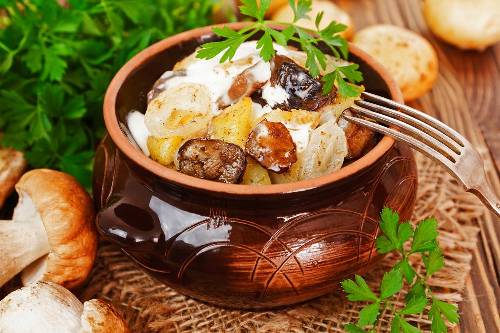 Грибы подберезовики с картошкой на сковороде. Лучшие рецепты