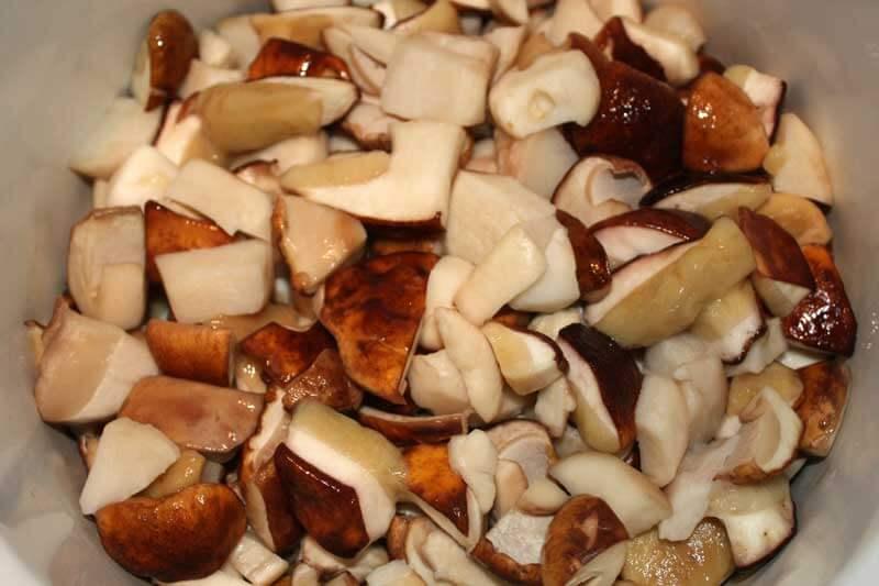 Заготовка грибов подберезовики на зиму