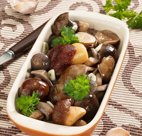 Соленые грибы ассорти. Рецепт заготовки на зиму