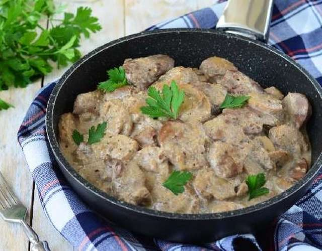 Свинина с шампиньонами просто, быстро, вкусно и полезно