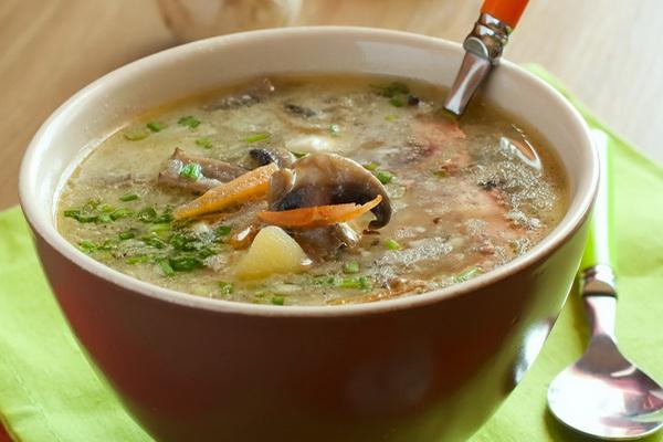Суп с грибами и вермишелью - как приготовить вкусно и быстро?