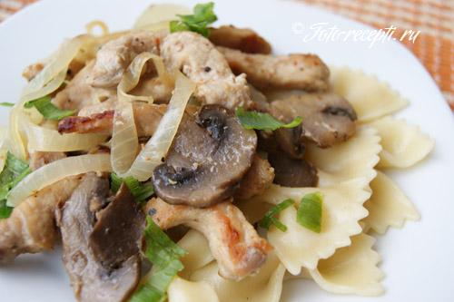 Мясо с грибами – праздничное разнообразие