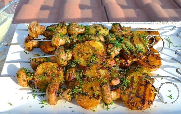 Жареная картошка с грибами – ужин на каждый день