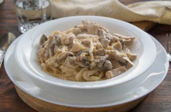 Курица с грибами в сливочном соусе – новейший рецепт