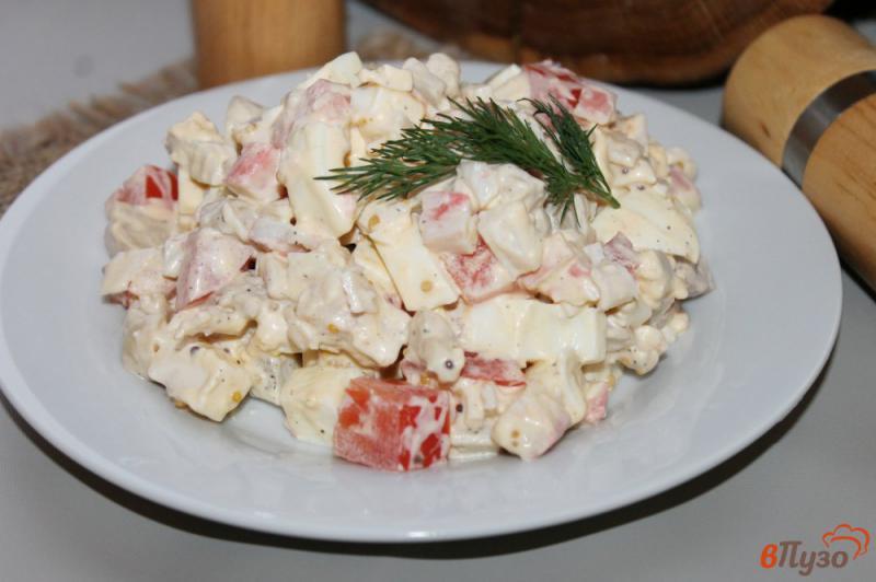 Салат с шампиньонами и крабовыми палочками: вкусно, просто и быстро