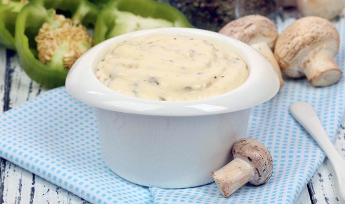 Сливочный соус с грибами – приятное дополнение с нежным вкусом