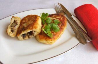 Картофельные зразы с грибами – из Беларуси с любовью