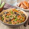 Перловка с грибами – рецепт грибной каши на пару