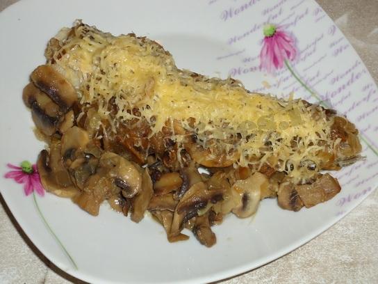 Рыба с грибами – 3 варианта приготовления
