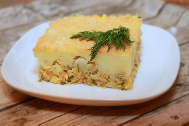 Картофельное пюре с грибами – то, что нужно, на обед!