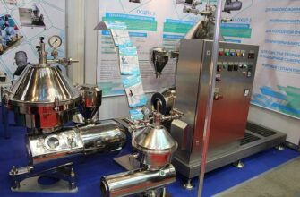 Промышленный сепаратор для отделения сливок