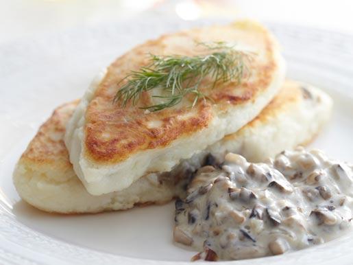 Картофельные котлеты с грибами – три домашних рецепта